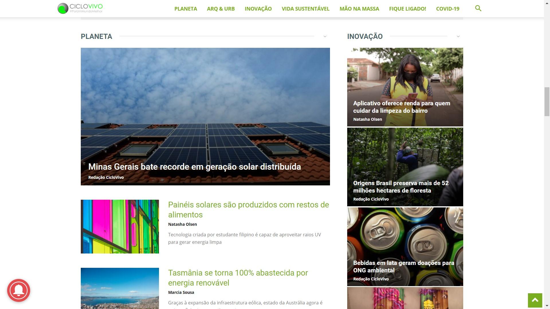 Zeladoria ambiental em destaque no Ciclo Vivo